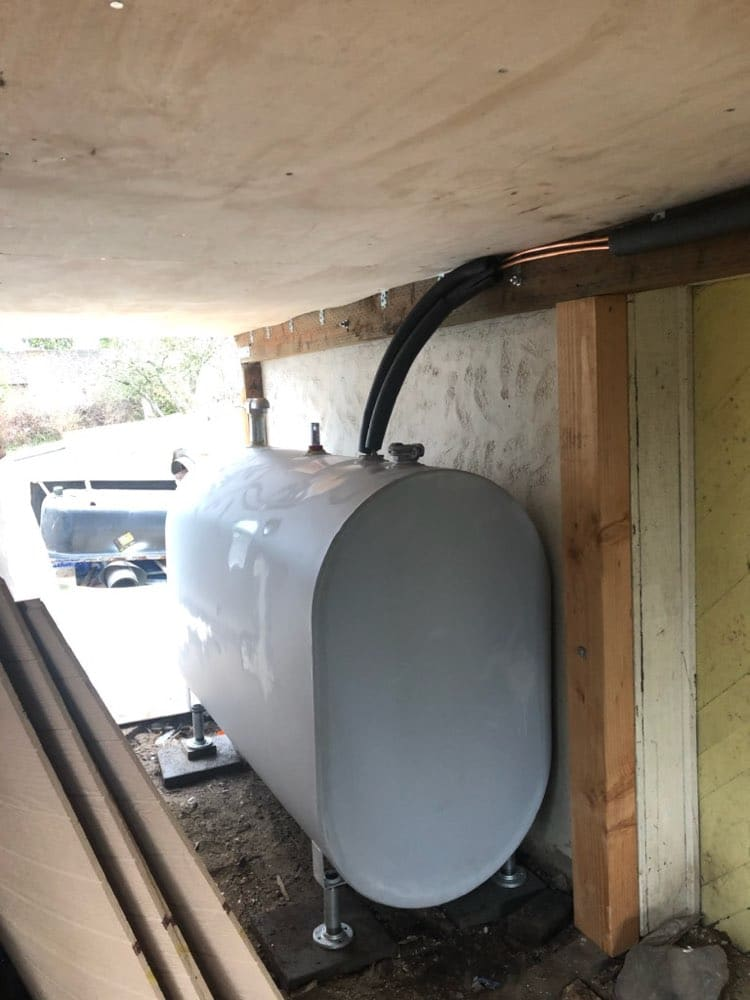 Above Ground Tank Installation